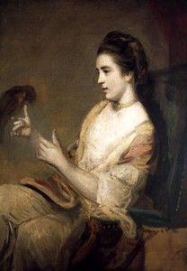 Kitty with Parrot by Joshua Reynolds 1763