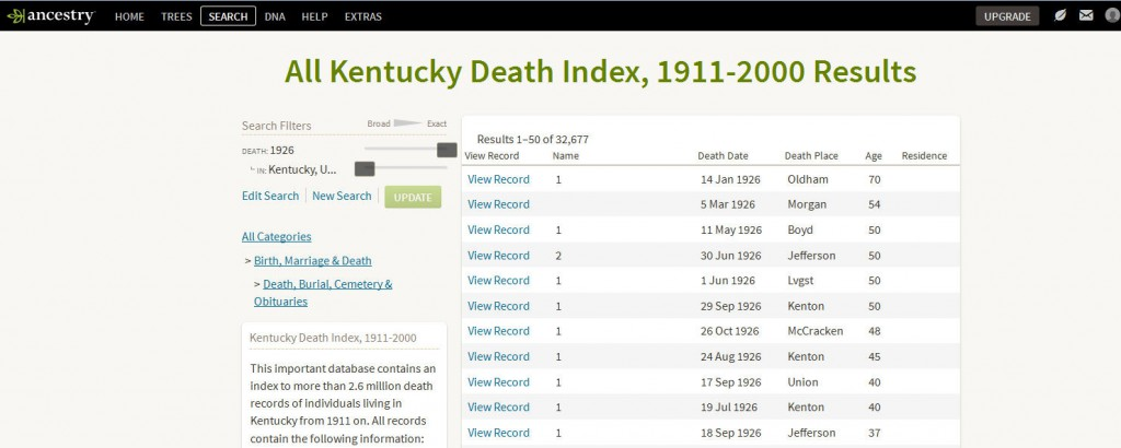 1926 state deaths