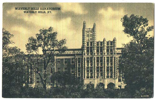 waverly hills postcard